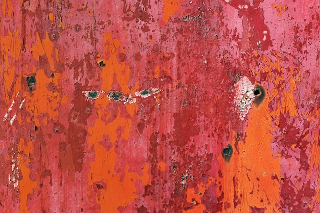 Rusty sheet of metal background