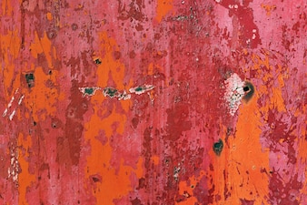 Rusty sheet of metal background