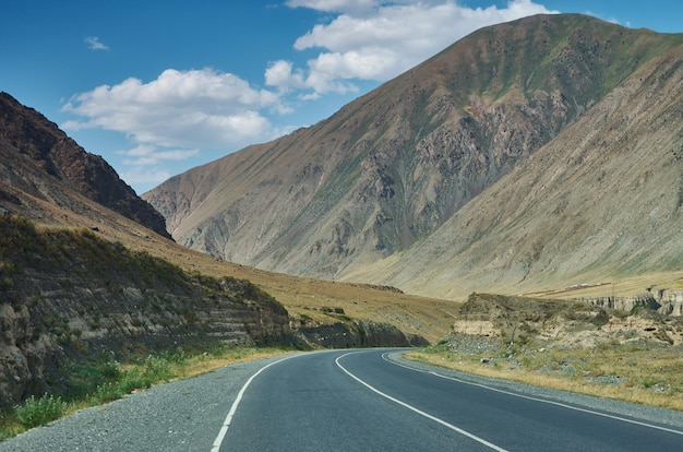 Rver valleys gulcha  , pamir highway, kyrgyzstan, central asia
