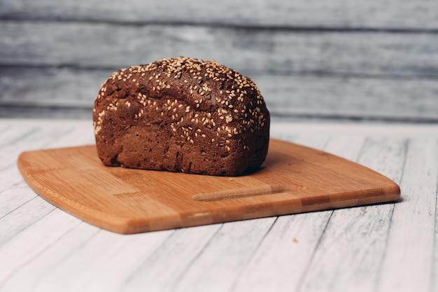 ライ麦全粒粉パン調理家庭用ベーキング木の板
