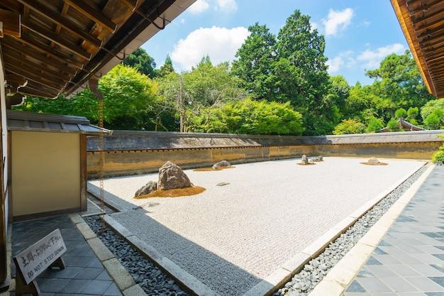 Ryoan ji japanese zen temple from kyoto