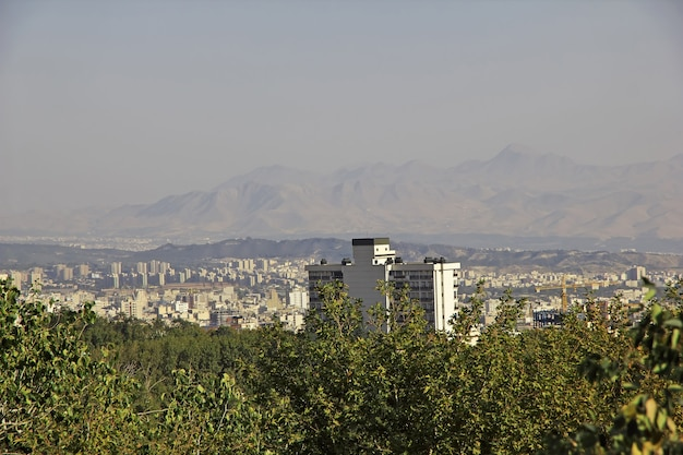 Saadabad park in tehran city iran
