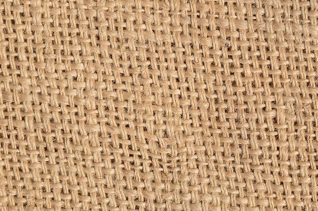 Sack texture weave pattern for background.