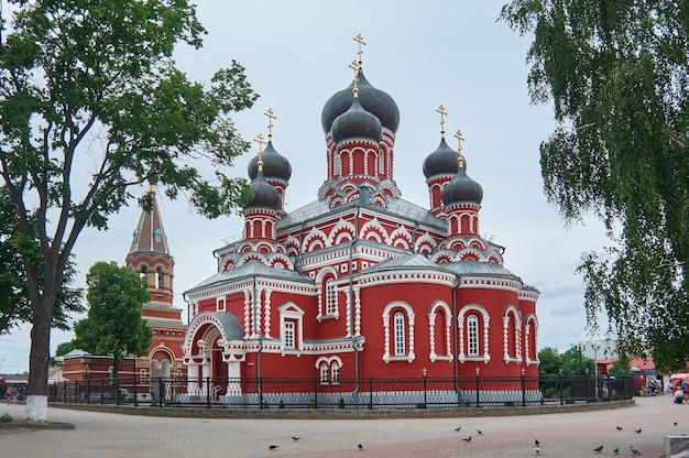 신성한 voskresensky 정통 대성당. 도시 borisov. 벨라루스