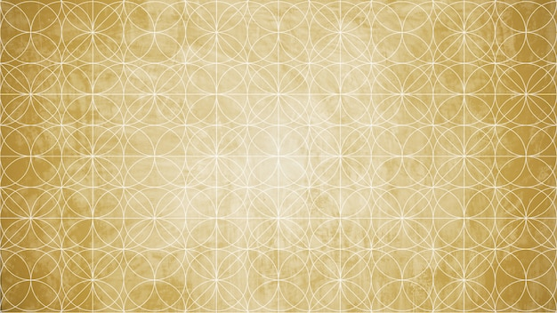 Sacred geometry in flower background shape.