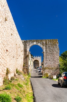The sacro convento a monastery in assisi italy