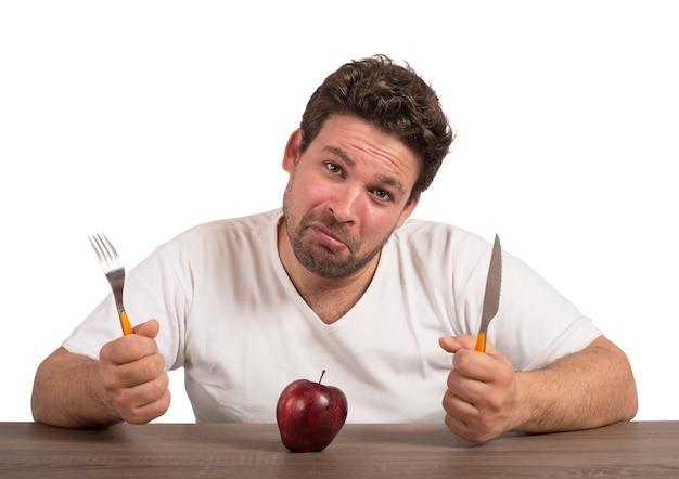 Грустно из-за диеты