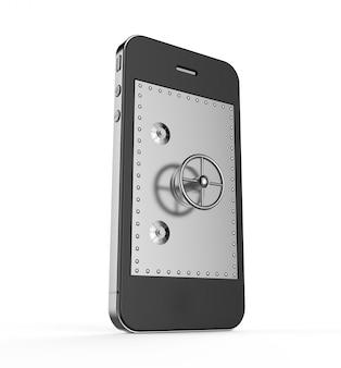 Safe in a smartphone