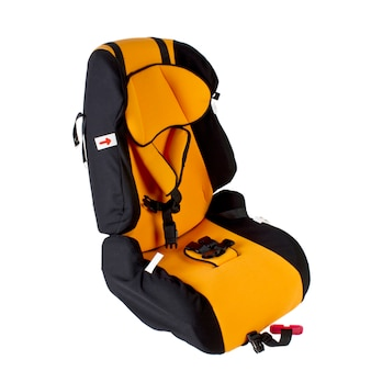 Safety car seat for children isolated.