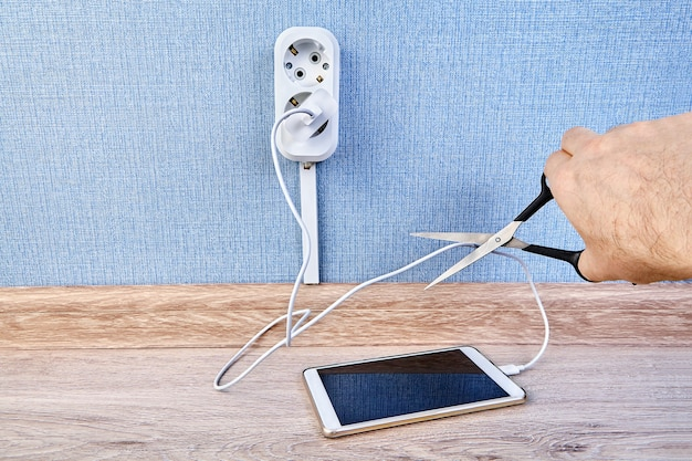 Safety of leaving our cell phones plugged into the charge once theyre fully charged. danger for the battery and shortening lifespan.