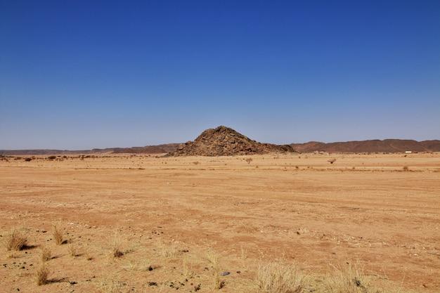 Sahara desert of sudan