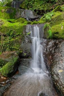 タイ、ウタラディット県プーソーイダーオ国立公園のサイティップ滝。