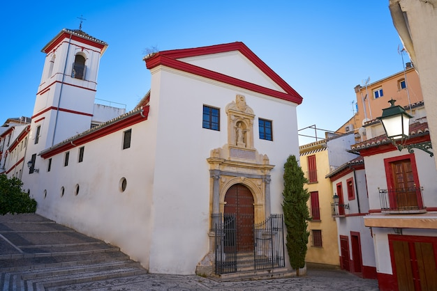 Saint gregorio church albaicin of granada