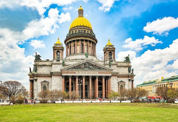 Исаакиевский собор - величайшее архитектурное творение. санкт-петербург. россия.