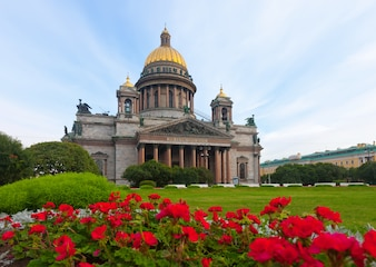 Saint Isaac's Cathedral in St. Petersburg