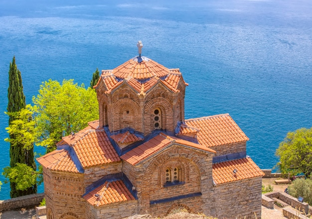 오흐리드 노스 마케도니아의 성 요한 카네오 정교회