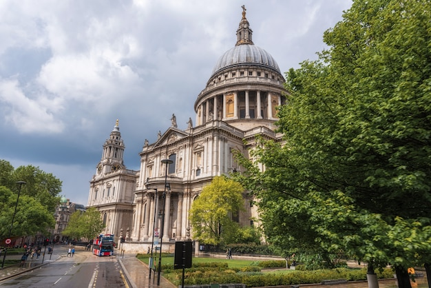 Saint paul's cathedral, london, england.