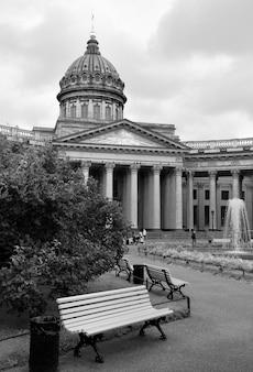카잔 대성당의 상트페테르부르크 중앙 현관