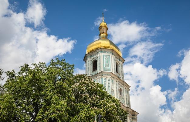 ウクライナ、キエフの聖ソフィア大聖堂。ウクライナで最も古い教会の1つ