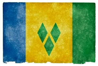 Saint vincent and the grenadines grunge
