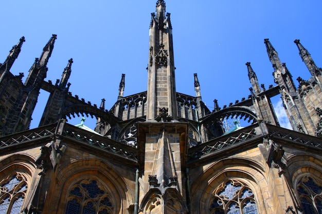 Собор святого вита, прага, фото путешествия