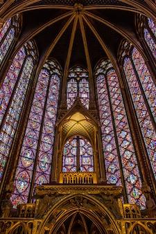 The sainte chapelle paris