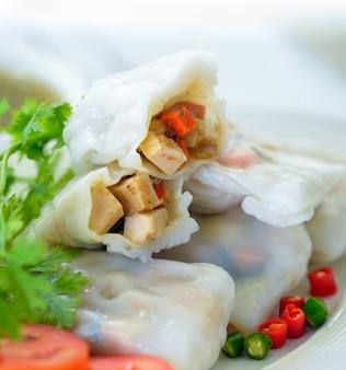 サラダ麺ロールヘルシーフード