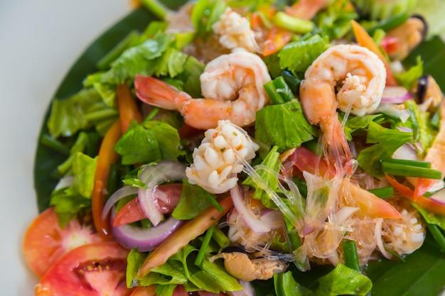 Salad on a plate Free Photo