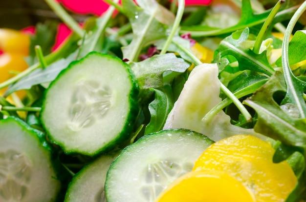 Salad with cucmber