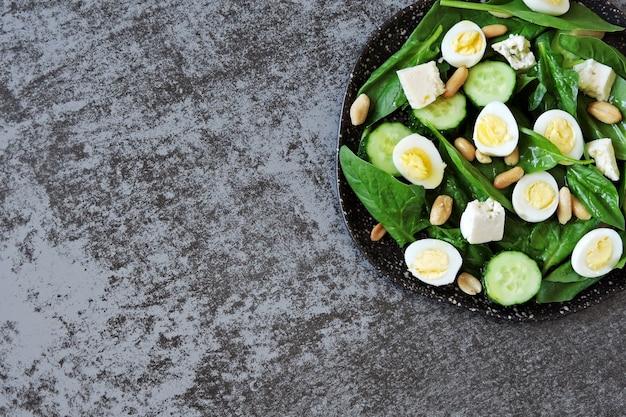 うずらの卵とピーナッツのサラダ