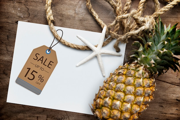 판매 할인 프로모션 특별 제공 그래픽 개념