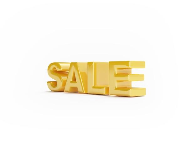 Слово продажи на белой поверхности