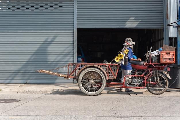 Грузовые трехколесные велосипеды (saleng, zaleng) купить неиспользованный товар