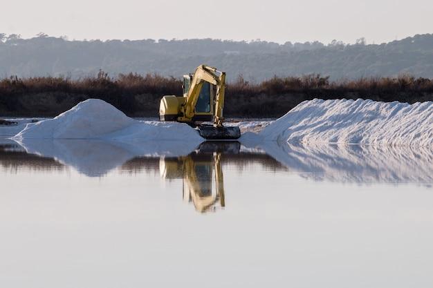 Saline evaporation ponds