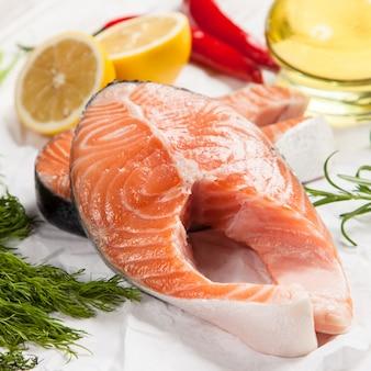 Salmon fresh