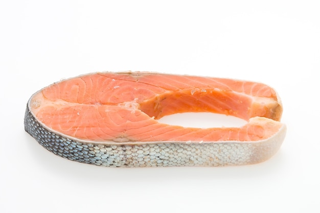 Salmon meat