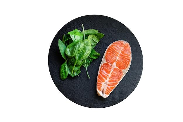 Лосось, морепродукты, рыба, сырые закуски, готовые к употреблению