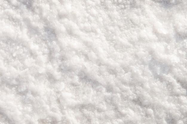 塩湖の背景..スパの背景の海塩のクローズアップ