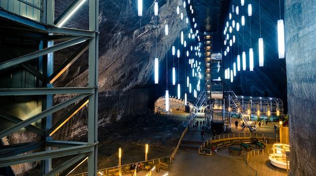 루마니아의 소금 광산
