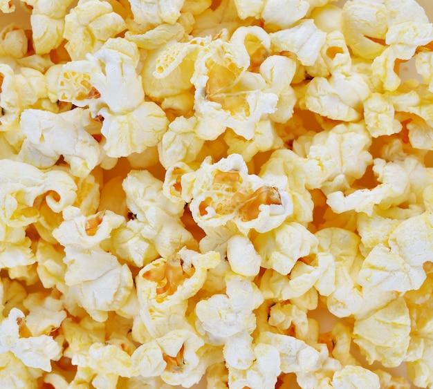 Salted popcorn grains,snacks