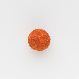 Курт соленый сухой с перцем. народный кисломолочный продукт средней азии