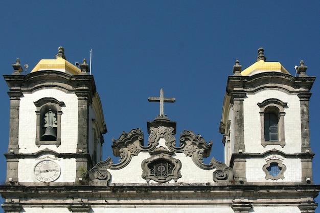 サルバドール、ブラジル-2017年1月:igreja nosso senhor do bonfim教会、サルバドール(salvador de bahia)、バイーア、ブラジル、南アメリカ。