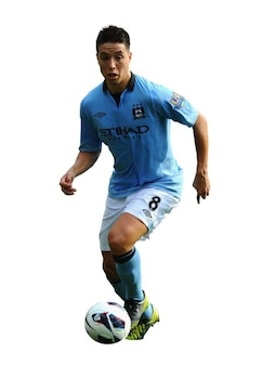 Samir nasri   man city premier league