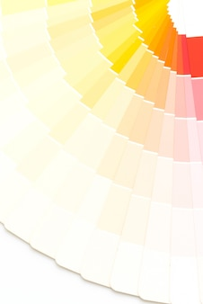 Sample colors catalogue