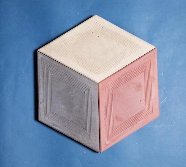 바닥, 벽 돌 모양의 샘플