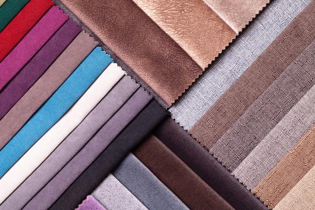 Sample of velvet textile background.