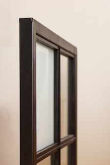 A sample of the window frames