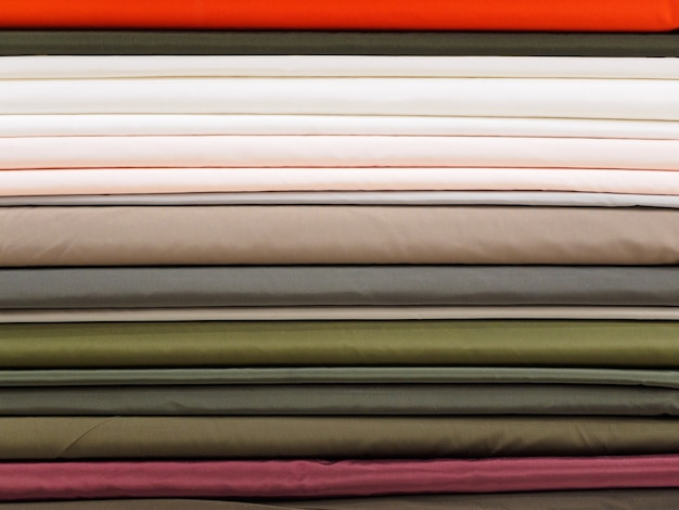 Образцы разноцветного тканевого фона