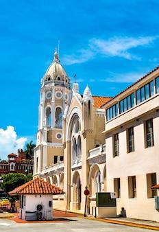 Церковь сан-франциско-де-асис в каско-вьехо, панама-сити