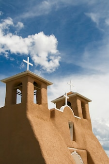 ニューメキシコのサンフランシスコデアシスミッション教会